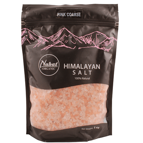 Nabat Organic Himalayan Pink Coarse Salt 1kg