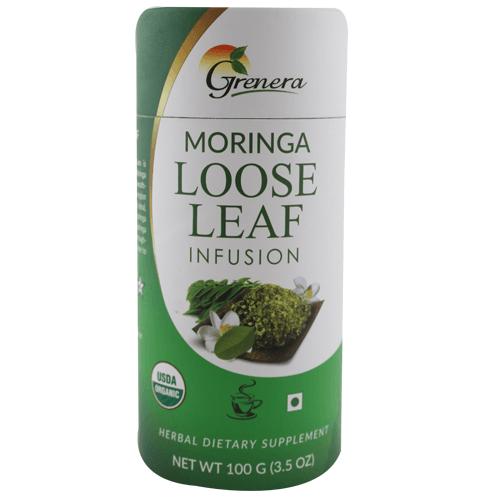 Grenera Moringa Loose Leaf Infusion 100G