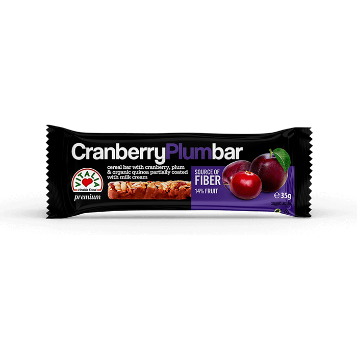 Bar Cranberry Plum chocolate (35g)