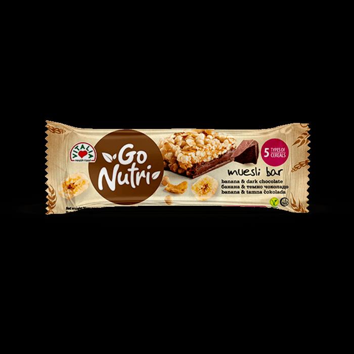 Go Nutri Bar Banana Chocolate (25g)