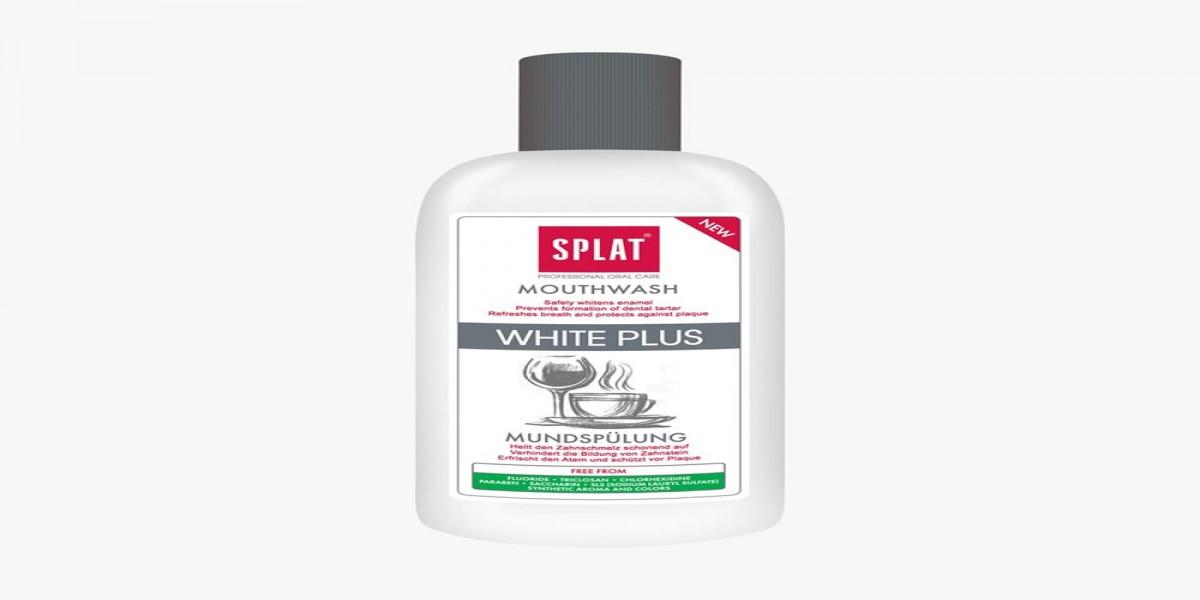 SPLAT White Plus Mouthwash 275ml