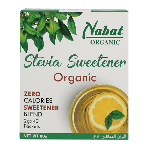 Nabat Organic Stevia 80g