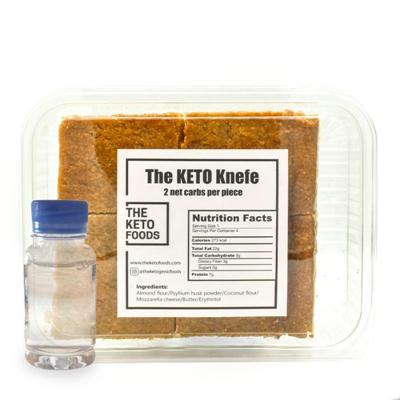 The Keto Foods Keto Knefe + Ater