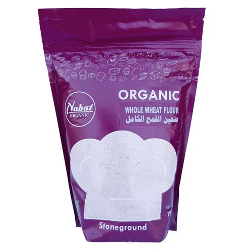 Nabat Organic Whole Wheat Flour 750g