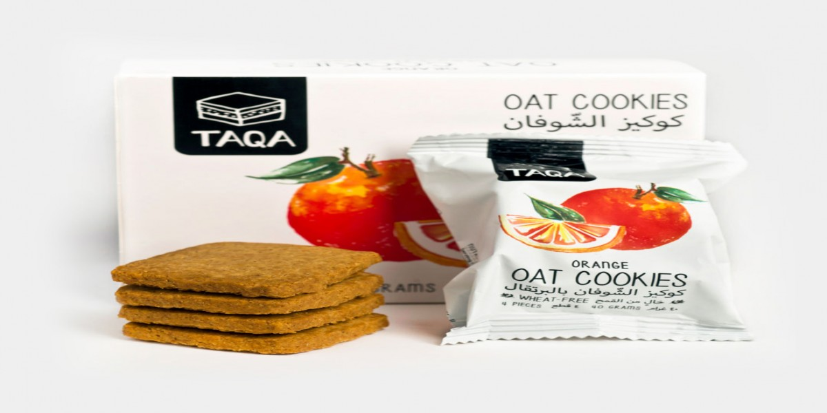 TAQA - Oat Orange Cookies