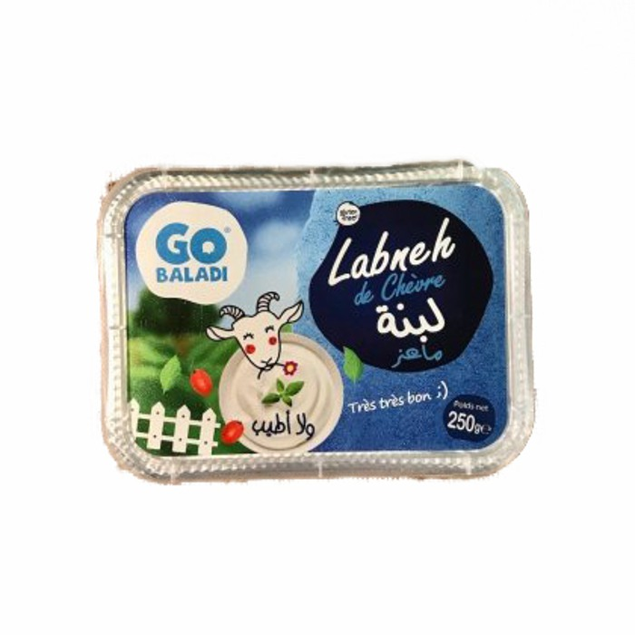 Go Baladi Goat Labneh gluten free 250g
