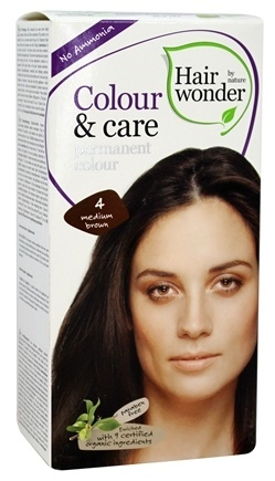 Hair Wonder Colorant- Medium Brown 4
