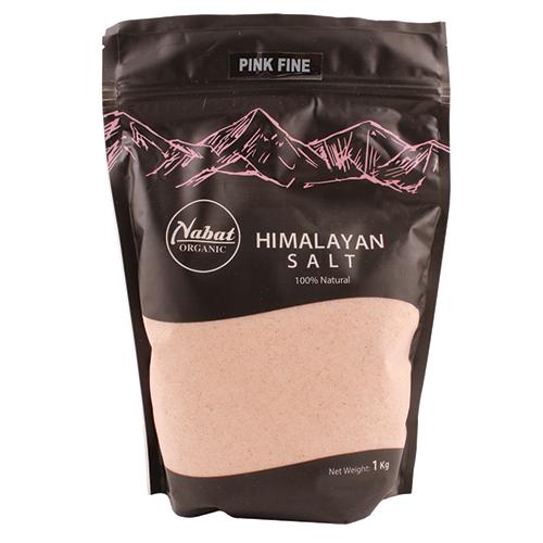 Nabat Organic Himalayan Pink Fine Salt 1Kg