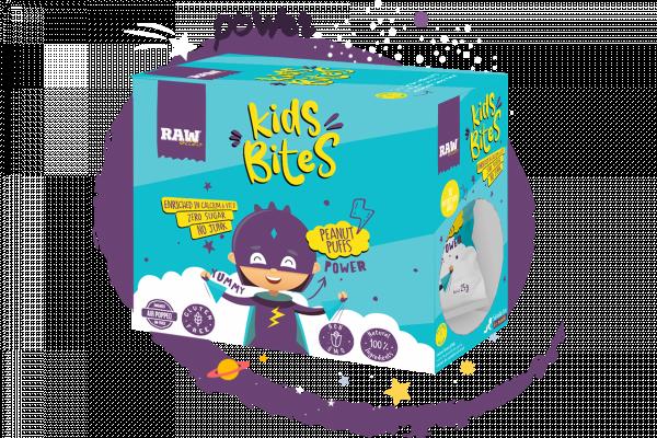 Raw Bites Kids Peanuts Puffs - 1pack