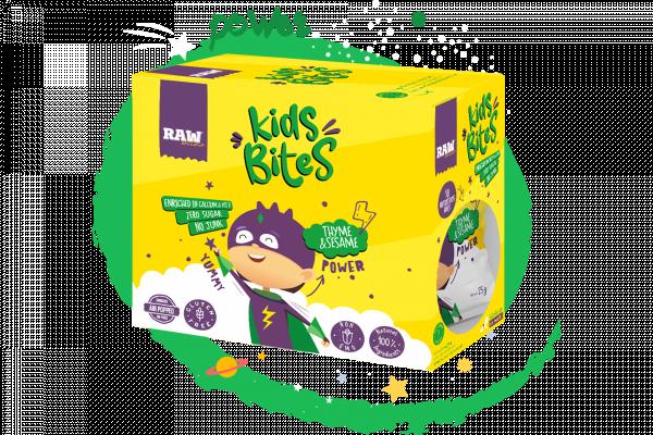Raw Bites Kids Thyme & Sesame - 1pack