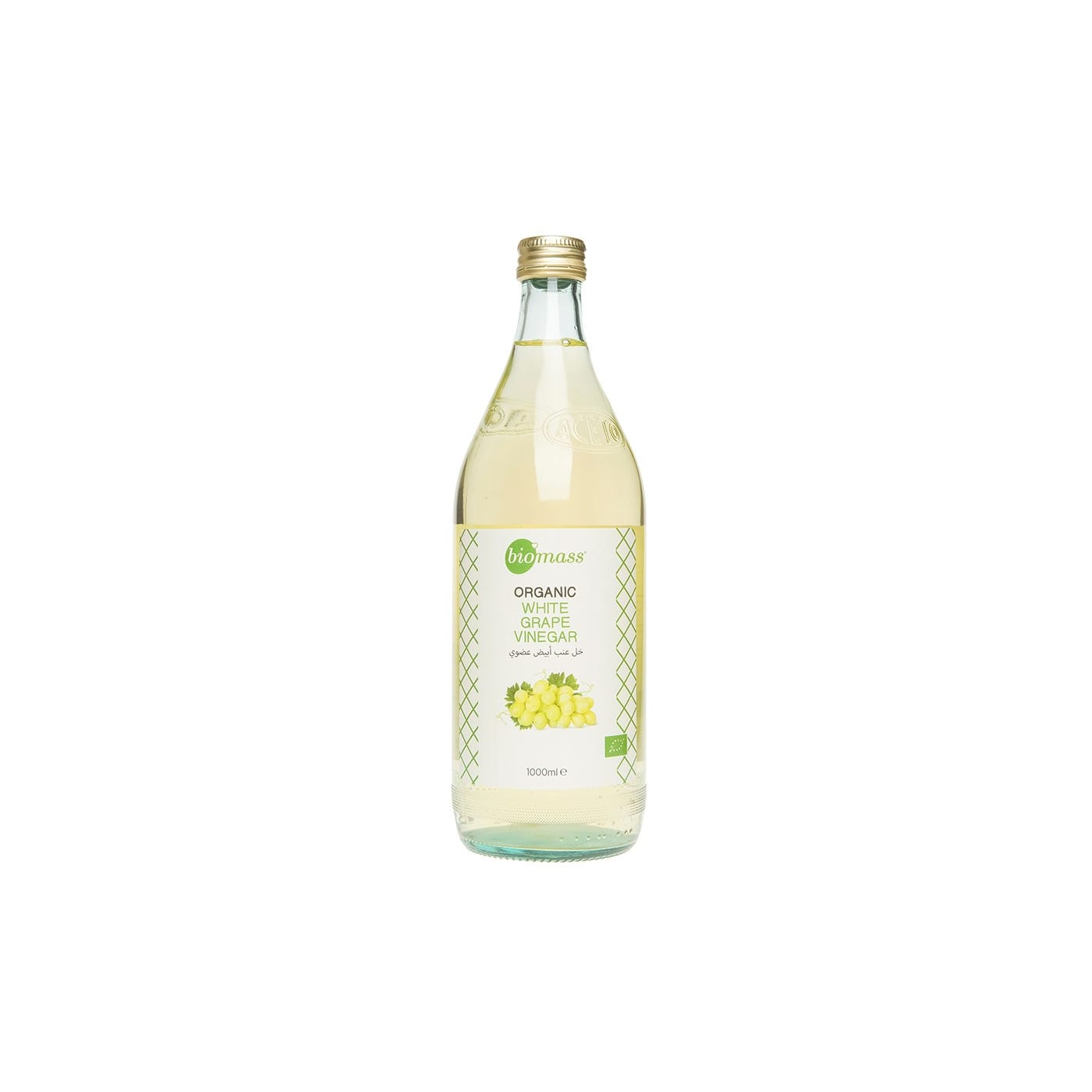 Biomass Organic White Grape Vinegar (Bottle - 1000ml)