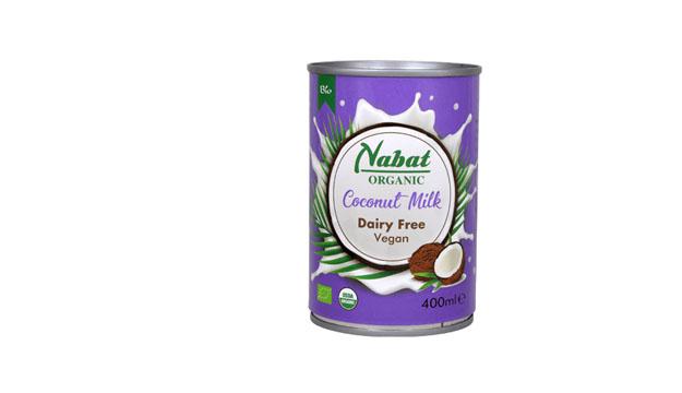 Nabat Organic Coconut Milk Can 400ml