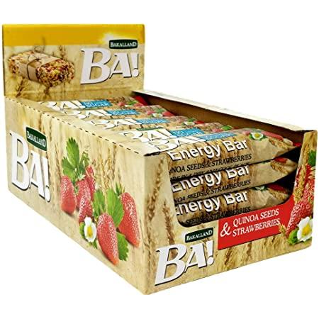 Ba Energy Bar No Sugar Strawberry & Quinoa 30g - 1pack
