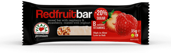Red Fruit Bar with Yogurt Coating (35g)