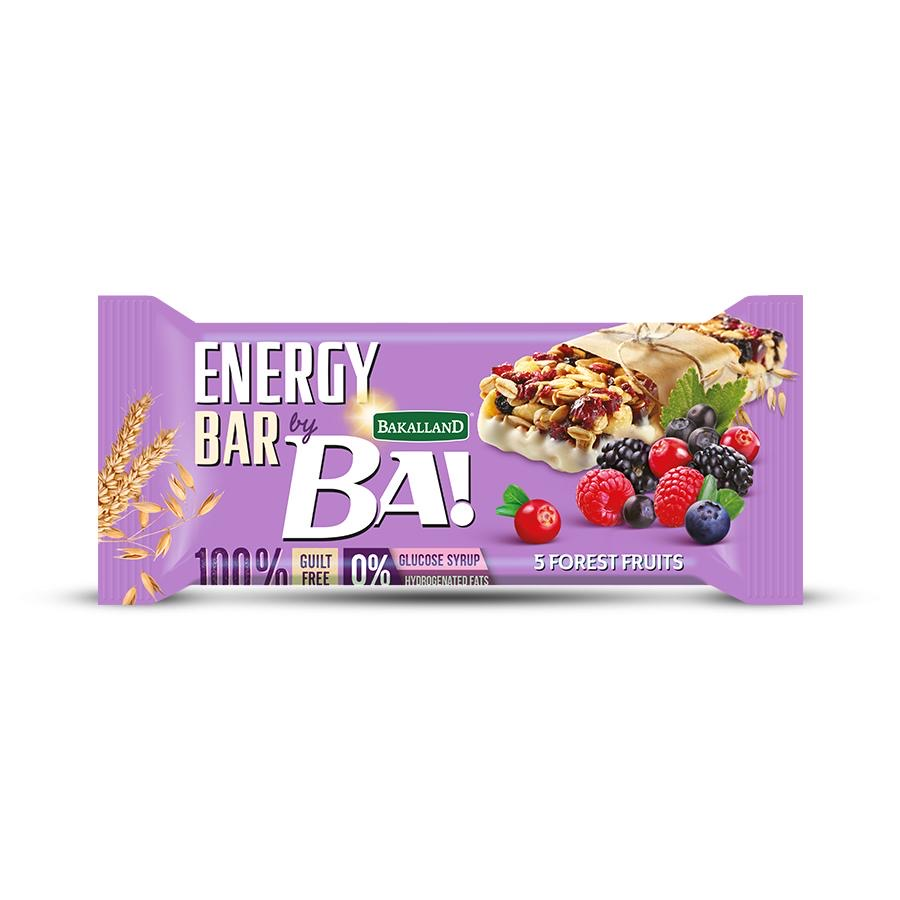Ba Energy Bar No Sugar 5 Forest Fruits 40g - 1pc