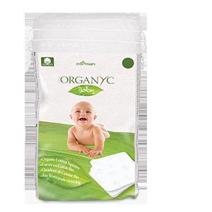 Organyc Baby  Cotton Squares