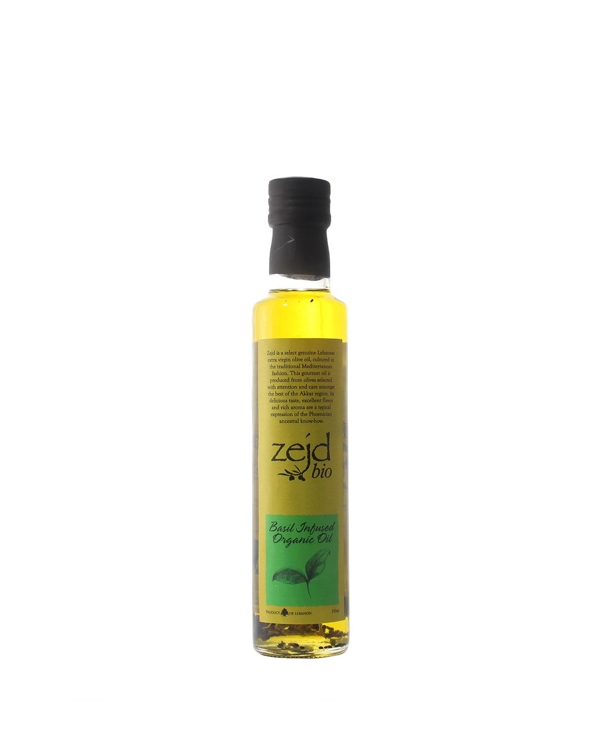 House of Zejd Basil Infusion Oil, 250mL