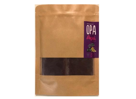 OPA Acai Frozen Acai Berry Pulp with Organic Cane Sugar 100g