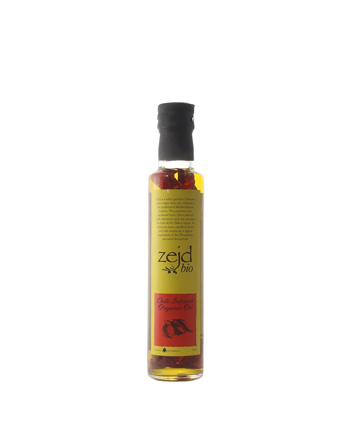 House of Zejd, Chili Infused Oil, 250mL