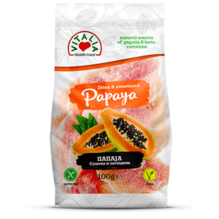 Dried And Sweetened Papaya (100g)