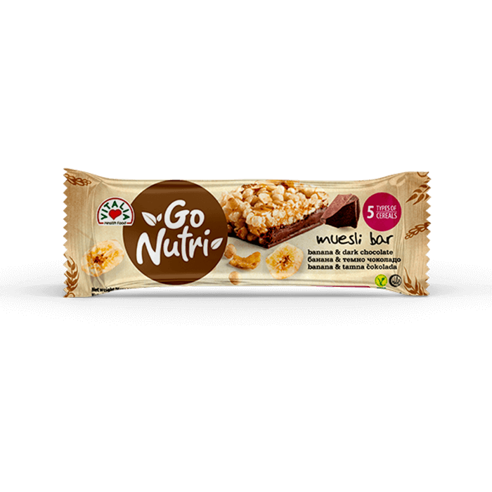 Go Nutri Bar Banana Chocolate (25g)