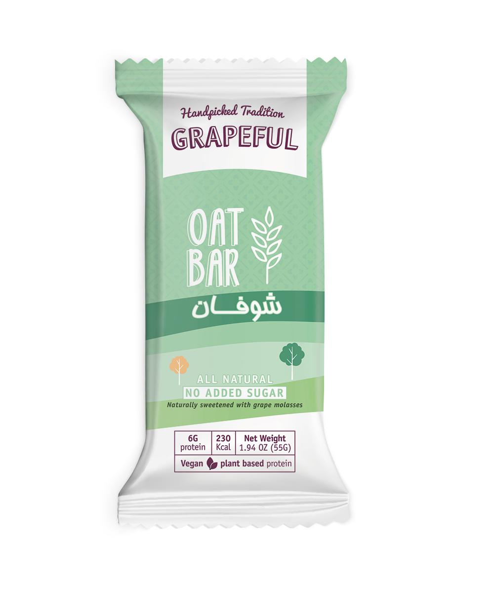 Grapeful, Oat Bar