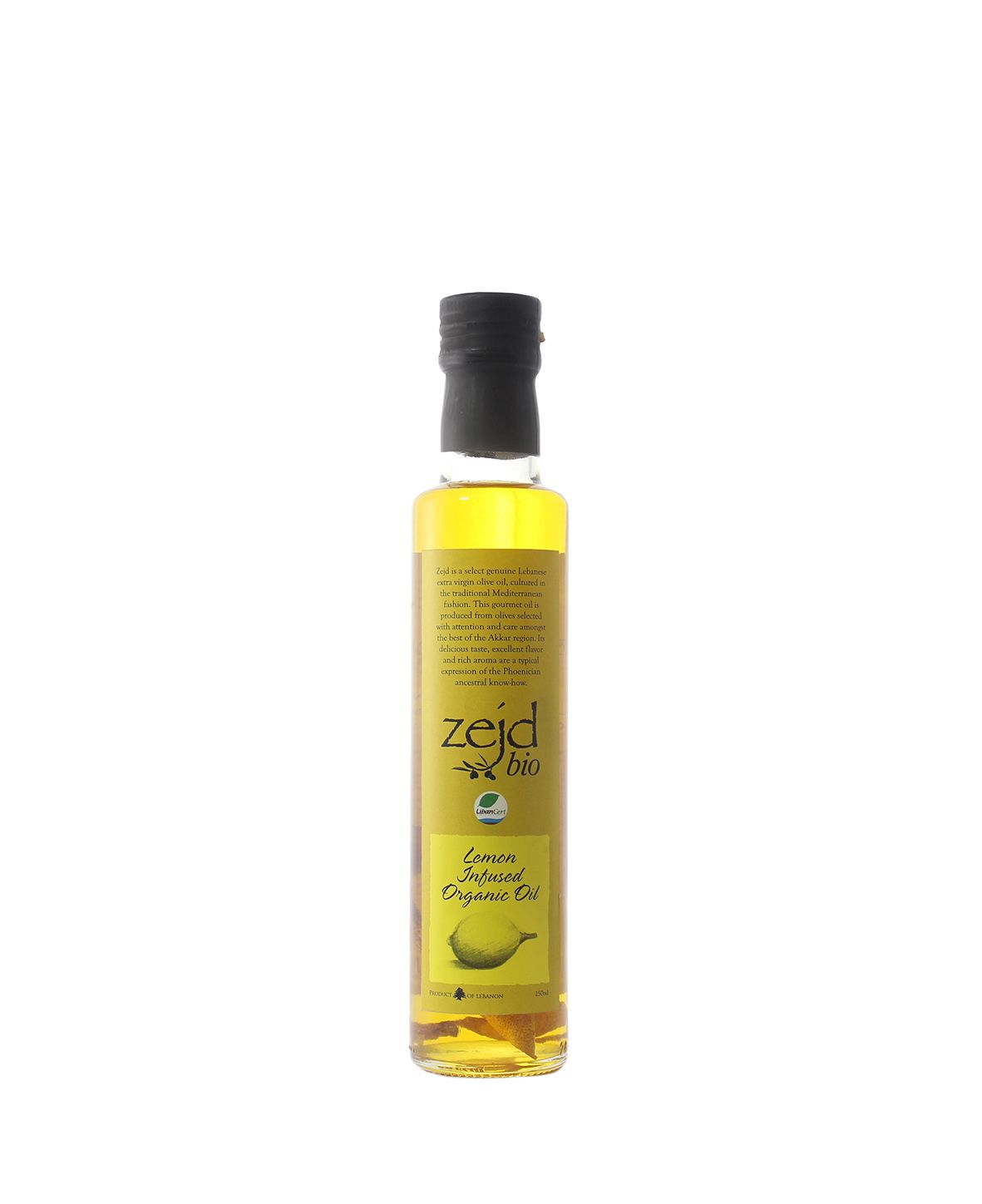 House of Zejd Lemon Infused Oil, 250mL