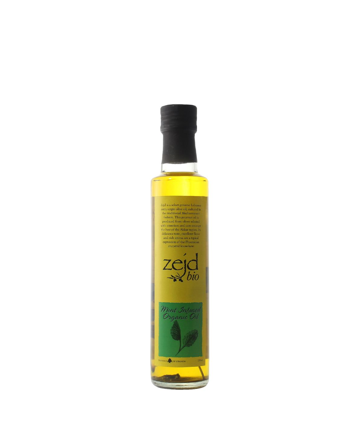 House of Zejd Mint Infusion Oil, 250mL