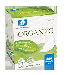 Regular Organic Cotton Compact Applicator Tampons