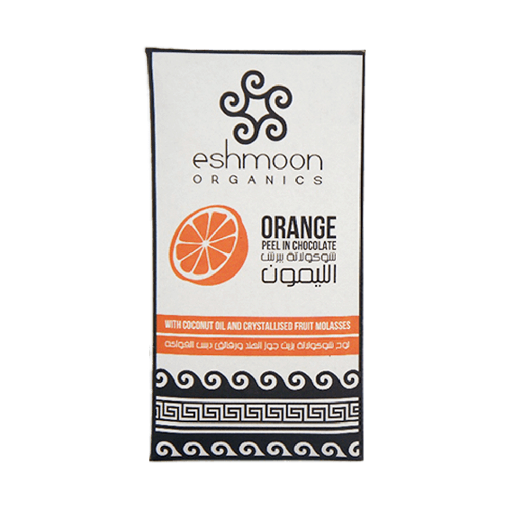 Eshmoon Dark Chocolate with Orange 110g