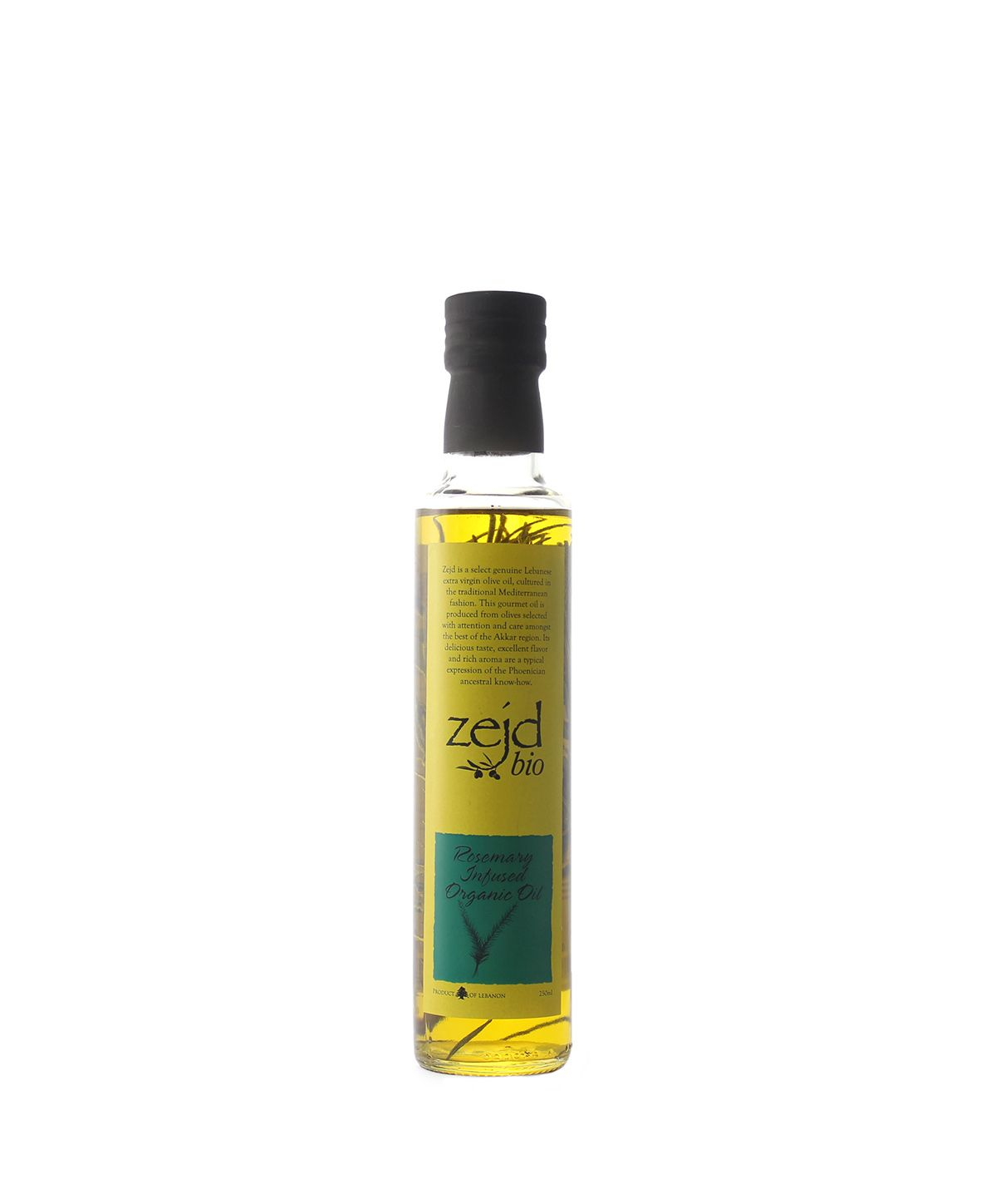 House of Zejd Rosemary Infused Oil, 250mL