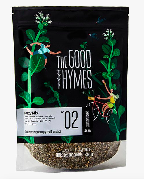 The Good Thymes- NUTTY ZAATAR MIX N 02
