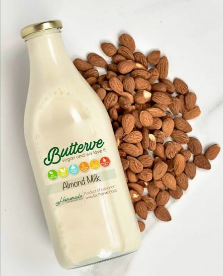 Butterve Vegan Almond Milk 750mL