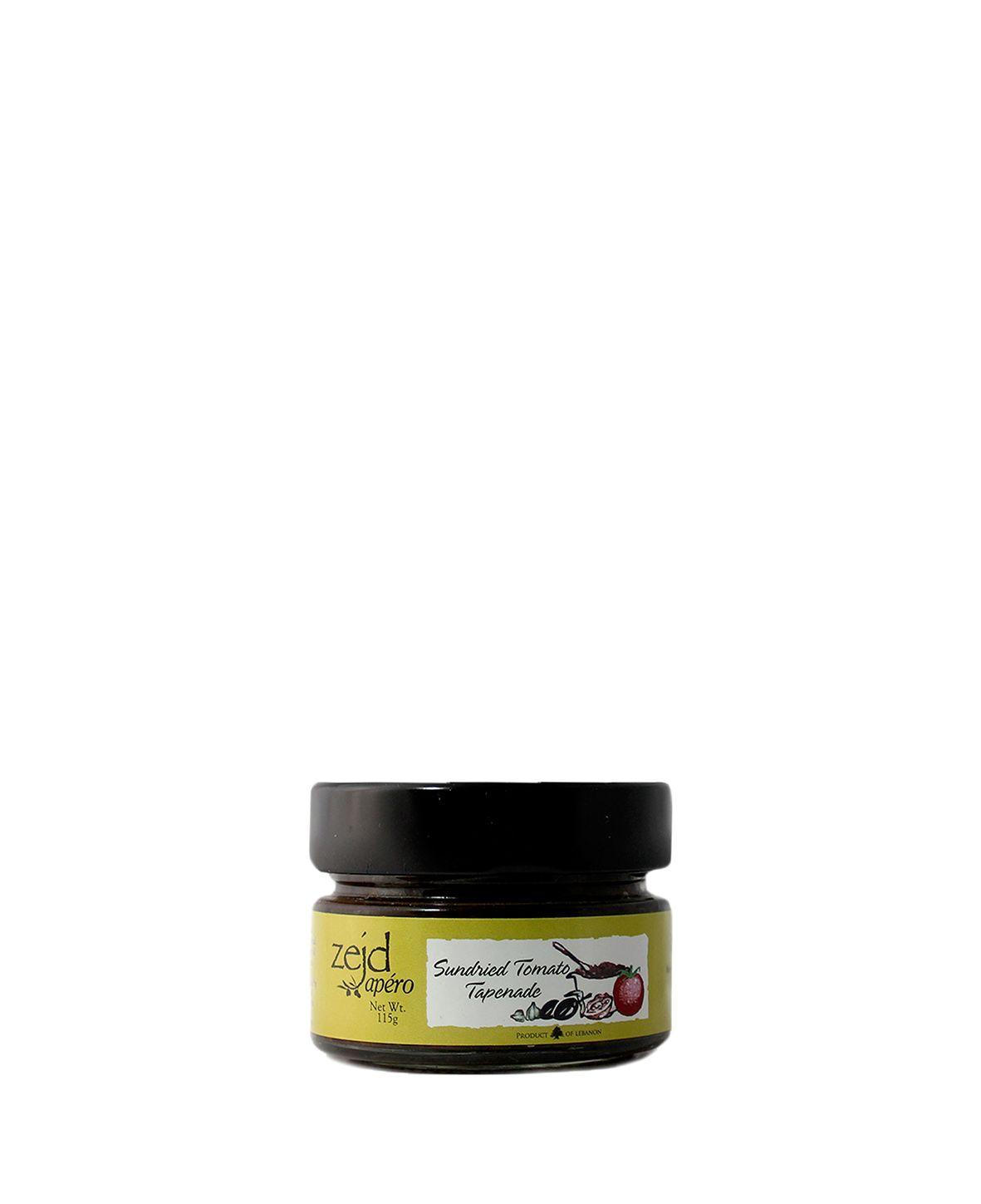 House of Zejd, Sundried Tomato Tapenade 115g