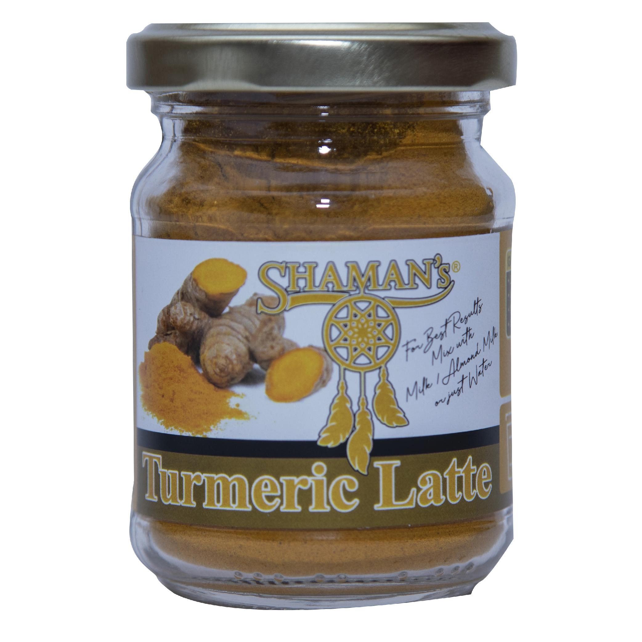 Shaman's Turmeric Latte