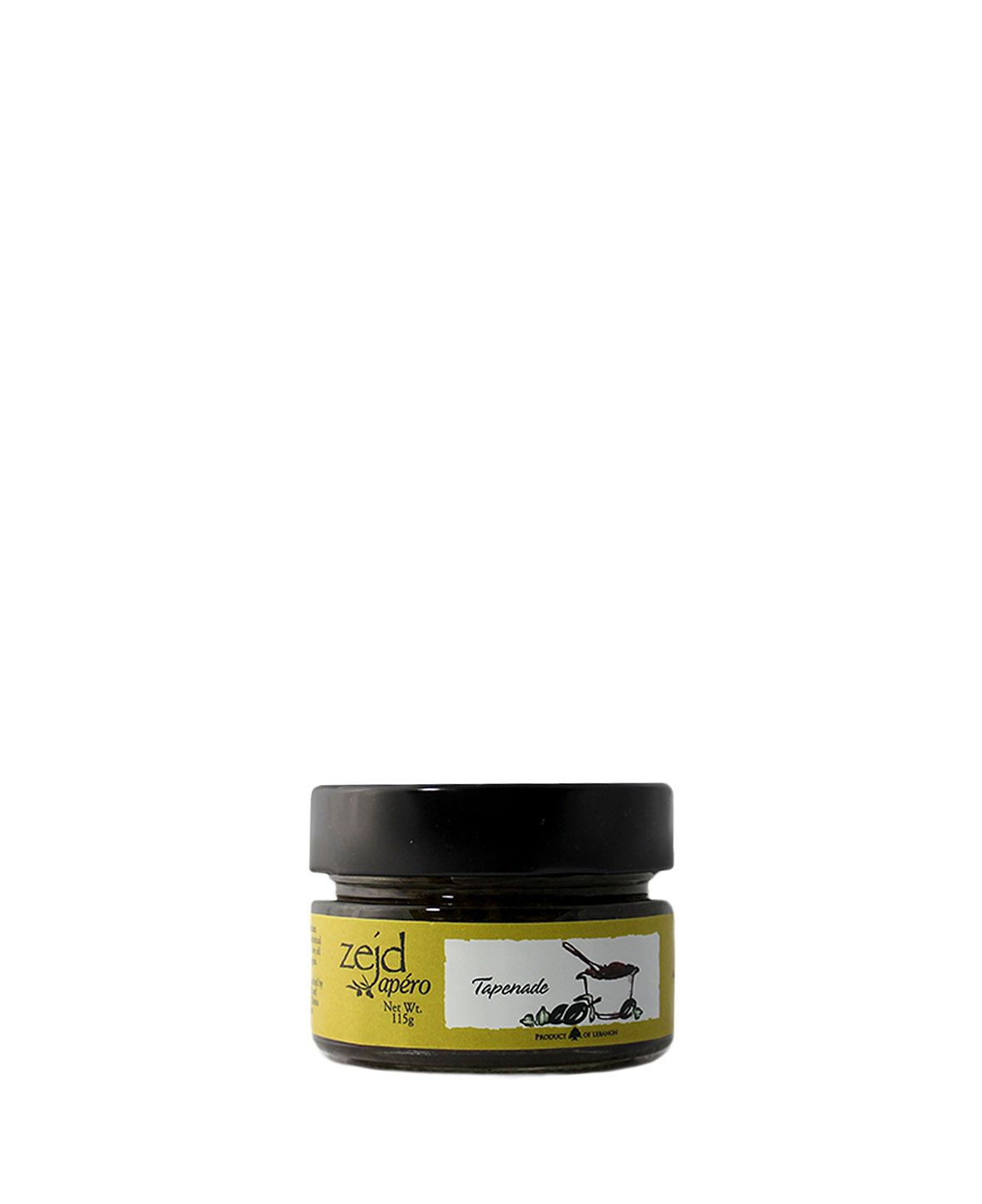 House of Zejd, Black Olive Paste 210g