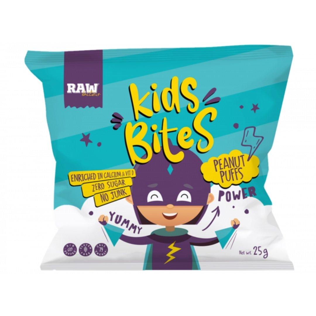 Raw Bites Kids Peanuts Puffs - 1pc