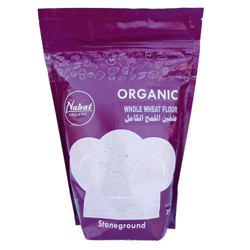 Nabat Organic Whole Wheat Flour 750g