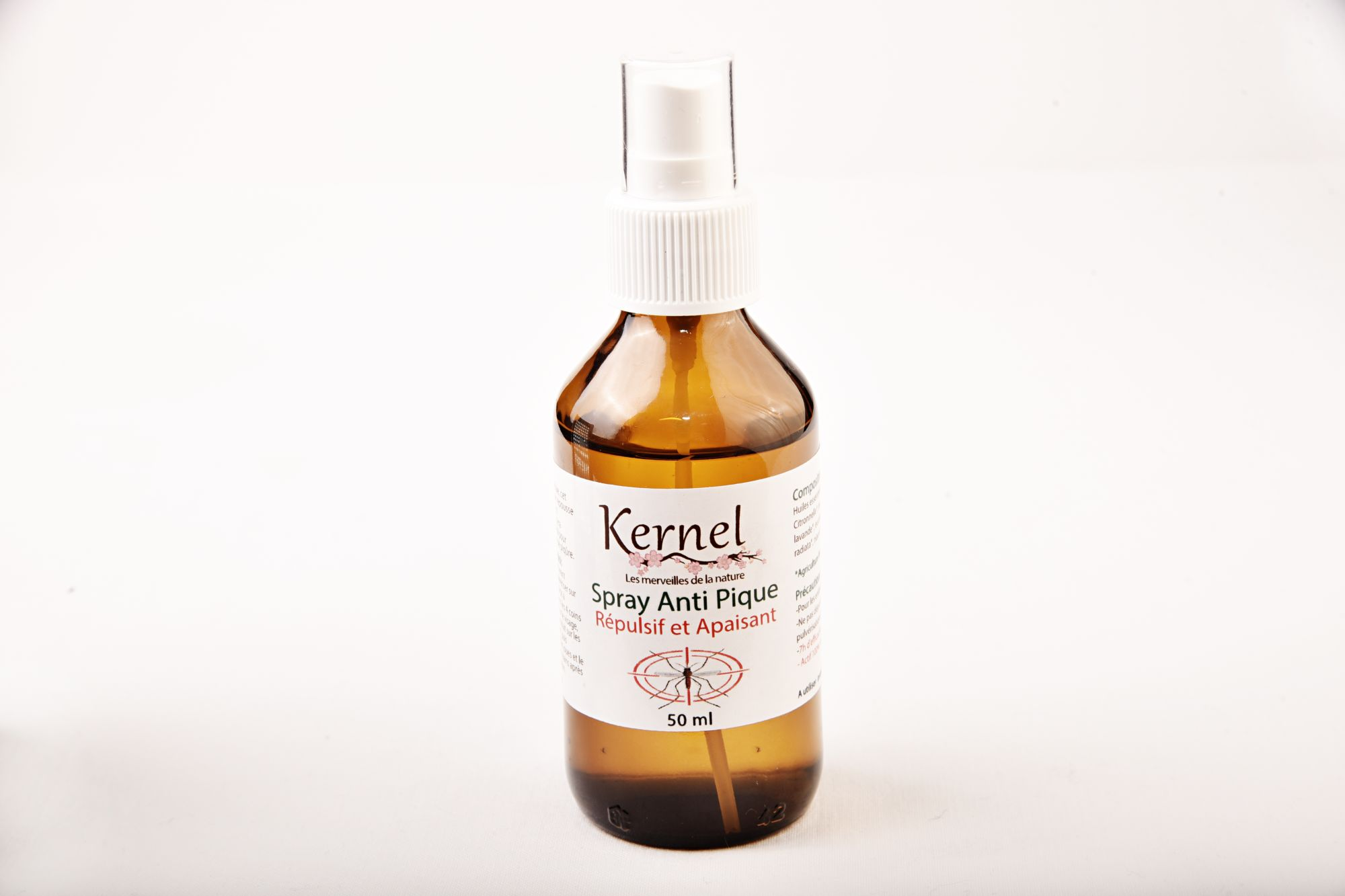 Kernel Organic Spray anti pique 100 ml (Anti sting repellent and soothing spray) :