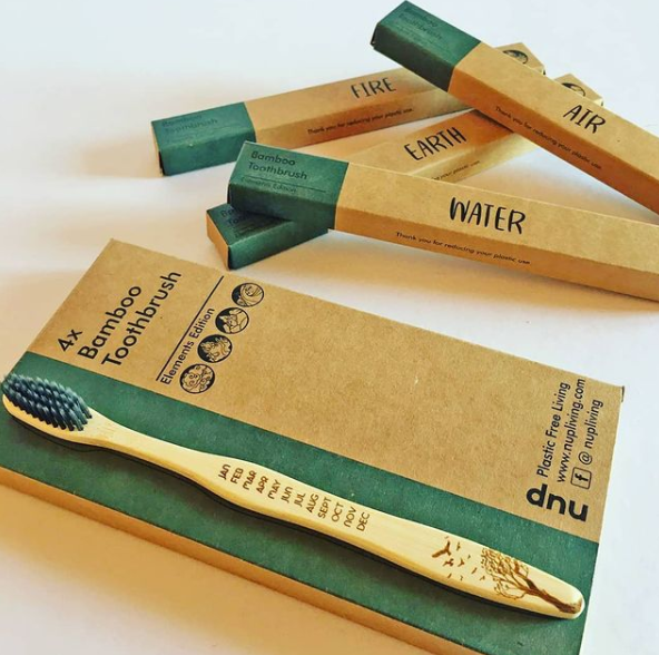 NUP LIVING Bamboo Tootbrushes