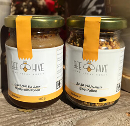 Herbatica-Bee Pollen Honey 250g