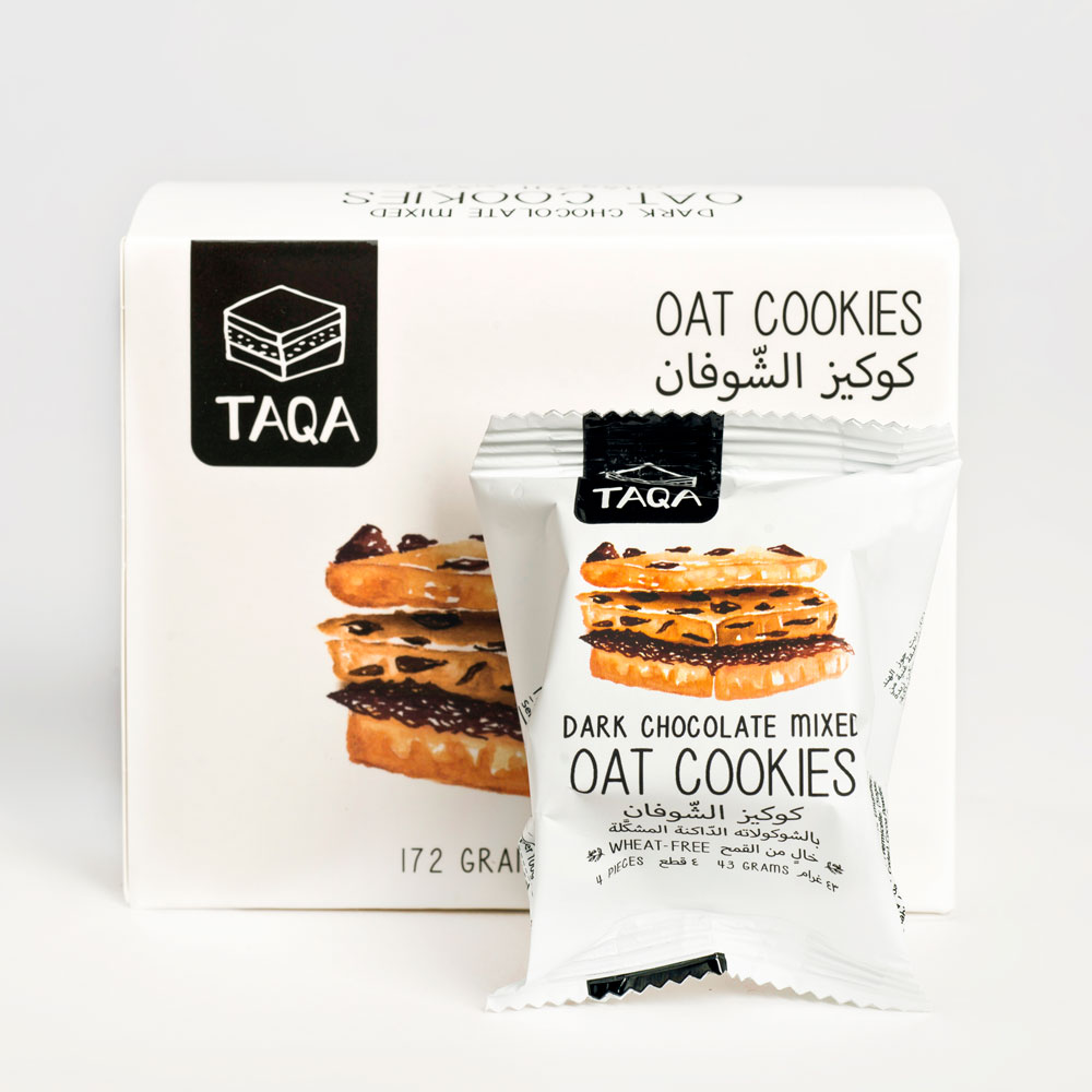 TAQA - Oat Dark Chocolate Cookies Mixed