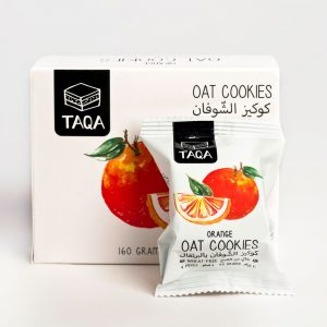 TAQA - Oat Orange Cookies