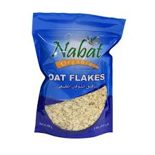 Nabat Organic Oat Flakes 450g