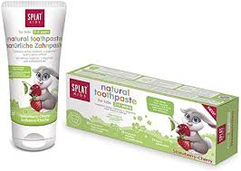 Splat Strawberry Cherry Toothpaste Fids 2 to 6 years