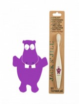 Jack N Jill Bio Toothbrush (TM) Compostable & Biodegradable Handle HIPPO