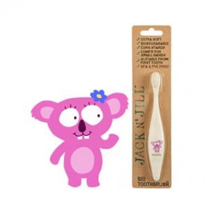 Jack N Jill Bio Toothbrush (TM) Compostable & Biodegradable Handle KOALA