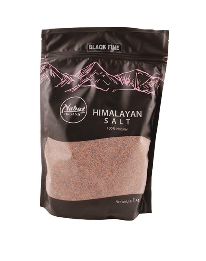 Nabat Himalaya Black Salt Fine 1kg