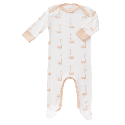 Fresk Bodysuit long sleeve Swan Pale Peach