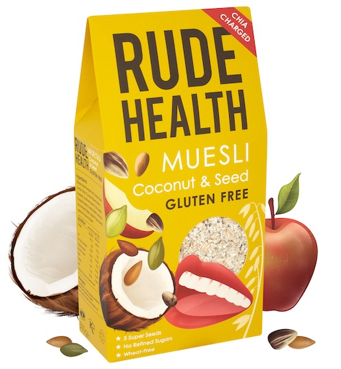 Coconut & Seed Muesli-Rude Health